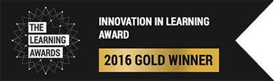 Innovation in Learning Award - 2016 Gold Winner